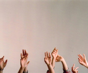 hands up and photography image