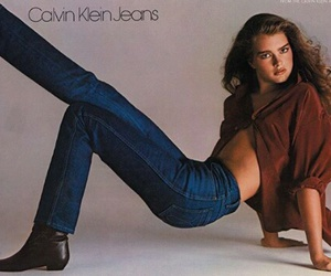 brooke shields, Calvin Klein, and jeans image