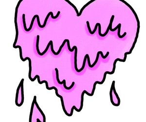 heart, overlay, and pink image