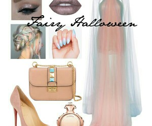 fairy, Halloween, and makeup image