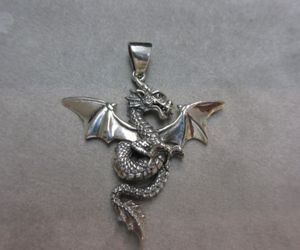 dragon, ebay, and gothic image