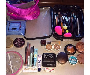 cosmetics, make up for ever, and neutrogena image
