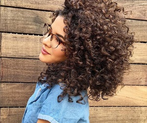 curly hair and curly girl image