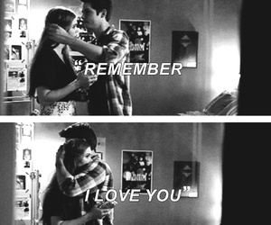 couple, teen wolf, and tw image