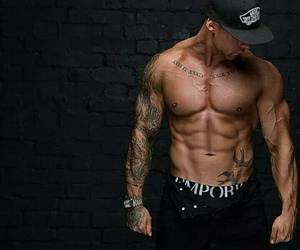 abs, boys, and fashion image