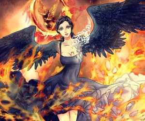 games, katniss everdeen, and tributo image