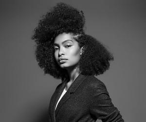 beauty, natural hair, and yara shahidi image