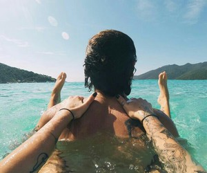 casal, beach, and love image
