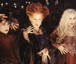 hocus pocus, witch, and Halloween image