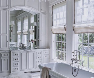 bathroom, white, and classy image