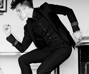 brendon urie, heels, and P!ATD image