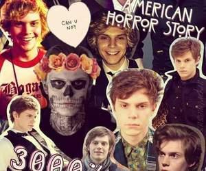 ahs, evan peters, and american horror story image