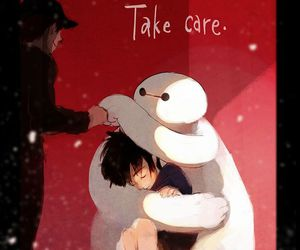 disney, hiro, and baymax image