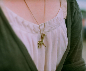girl, necklace, and hipster image
