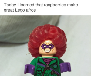 funny, lego, and raspberry image