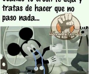 divertido, funny, and mickey mouse image