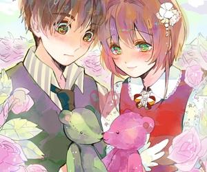 anime girl, anime boy, and love image