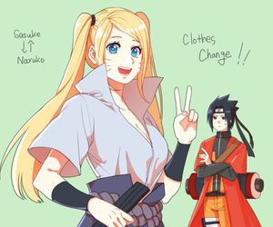 naruto, sasuke, and twins image