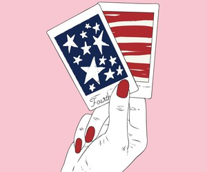 hand, pink, and red image