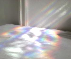 rainbow, grunge, and pale image