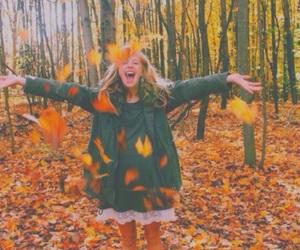 autumn, coat, and fall image