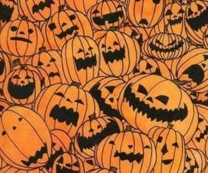 Halloween, pumpkin, and wallpaper image