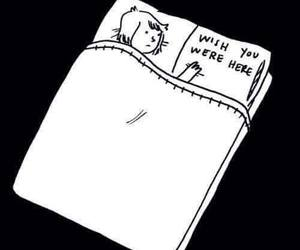 love, bed, and wish image