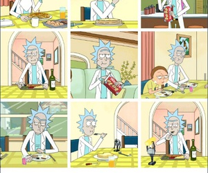cartoons and rick and morty image