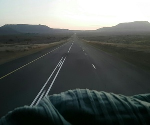 infinity, landscape, and road image