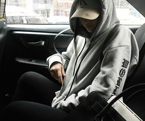 fashion, car, and outfit image