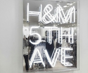 H&M, shopping, and white image