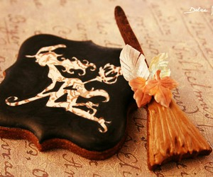 broom, sweets, and Cookies image
