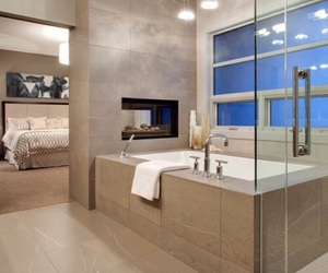 bathroom and bedroom image