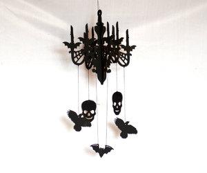 candelabrum, etsy, and halloween decor image