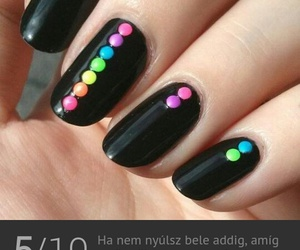 color, diy, and manicure image