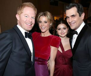 modern family, ty burrell, and ariel winter image