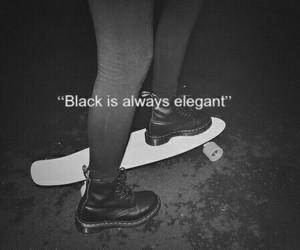 black, elegant, and grunge image