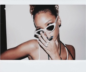 rihanna and polaroid image