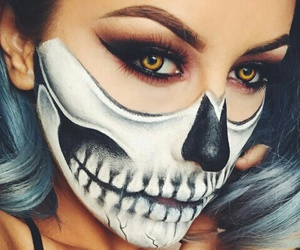Halloween, makeup, and eyes image