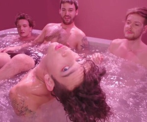 the 1975, pink, and aesthetic image