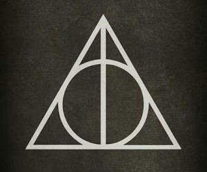 harry potter, deathly hallows, and wallpaper image