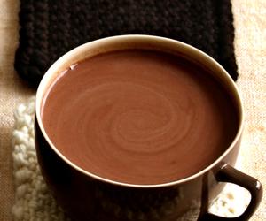 chocolate, hot chocolate, and coffee image