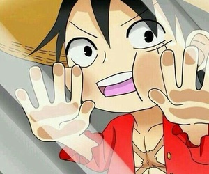 luffy, one piece, and anime image