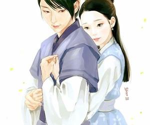 Korean Drama, hae soo, and moon lovers image