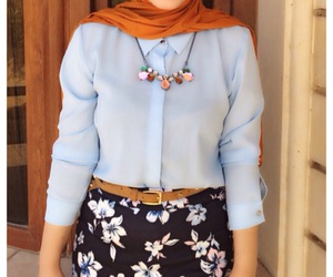 hijab, hijabmuslim, and hijaber image