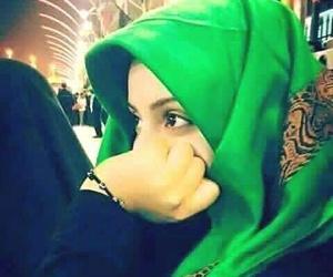 girls, محجبات, and حجابي image