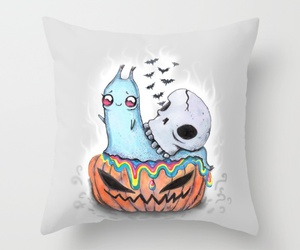 bed, Halloween, and cute image