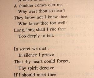 Byron, poem, and relationships image