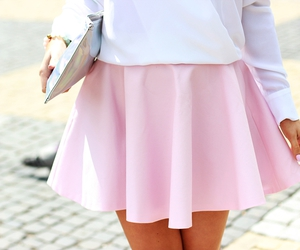 cute skirt, fashion, and girl image