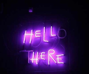 hell, neon, and light image